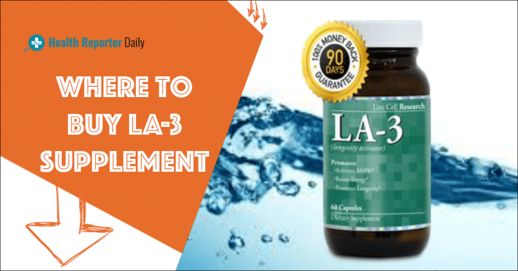 Where To Buy LA-3 Supplement