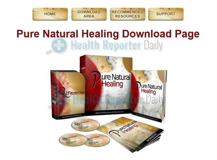 Pure Natural Healing Members Area