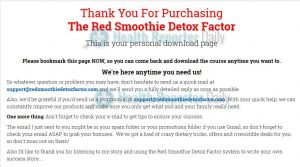 Red Smoothie Detox Factor Review: Detox Dream or Waste of Time?