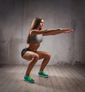 squats for fat burn