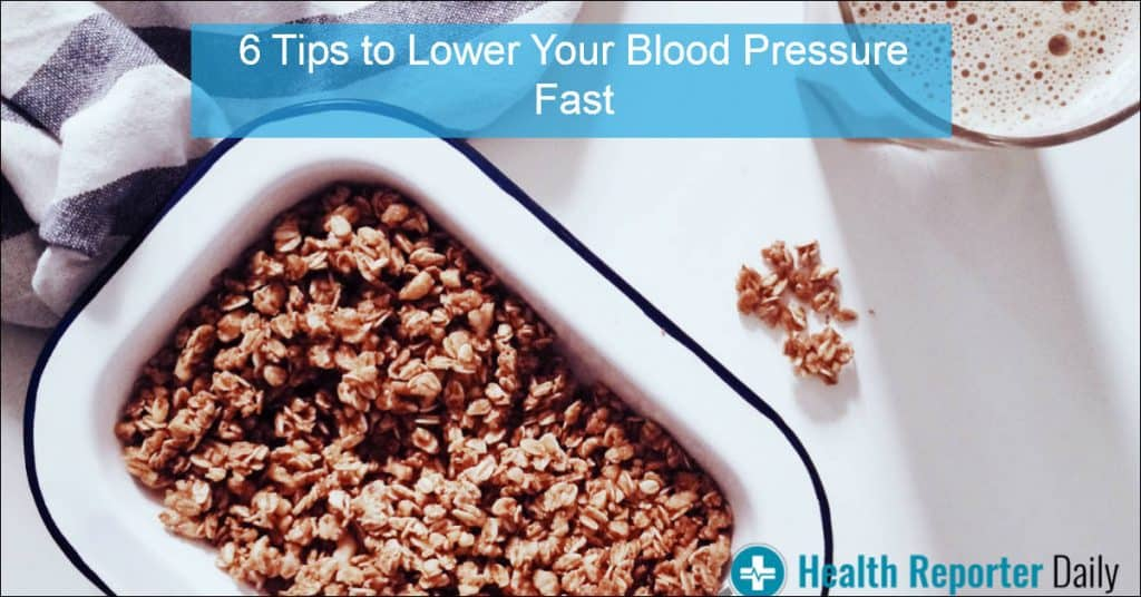 How to Lower your Blood Pressure Fast