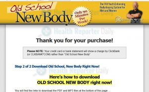 Old School New Body Review & Members Area Tour (Steve Holman)