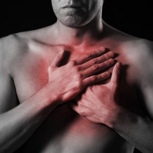heartburn side pain