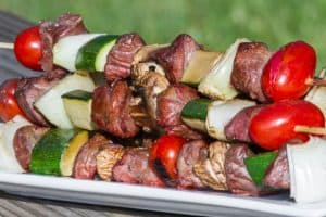kabobs low cholesterol
