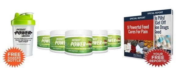 Patriot Power Greens Bonus