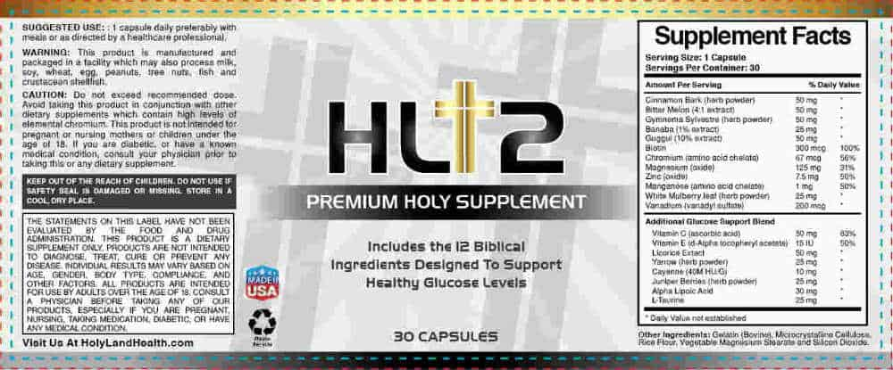 hl12 ingredients
